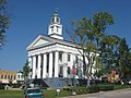 Orange County Courthouse in Paoli, southeastern angle in the morning.jpg