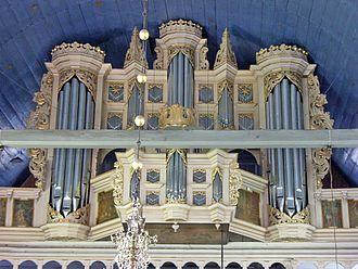 Arp Schnitger - Image: Orgel Jork