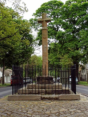 John Cockburn of Ormiston - Mercat cross at Ormiston