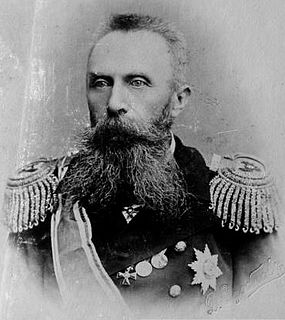 Russian admiral and explorer