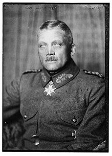 Oskar von Watter German general