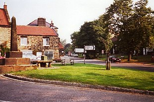The village green and barter table