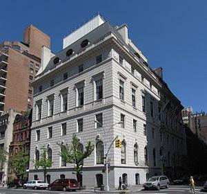 Union Club of the City of New York - Union Club of the City of New York on Park Avenue
