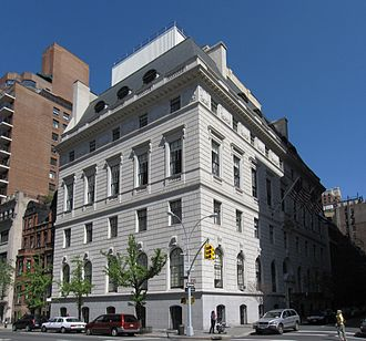 Union Club of the City of New York - Union Club of the City of New York on Park Avenue
