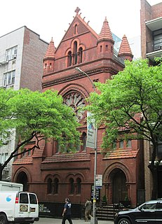 Our Saviour New York Francis H. Kimball designed church building in Manhattan, United States of America