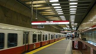 Harvard station MBTA subway station in Harvard Square, Cambridge
