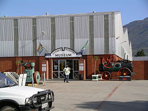 Outeniqua Transport Museum - Entrance of the Outeniqua Transport Museum