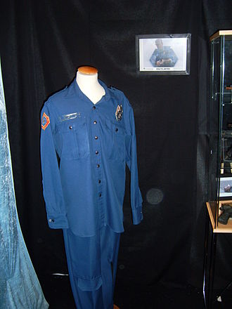 Outland (film) - O'Niel's costume at a convention in Stockholm, Sweden