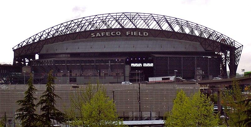 Outside Safeco Field, Seattle, WA, 6 May, 2009.JPG