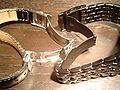 Bracelet Acier Cuir Grain De Caf Ef Bf Bd Histoire D Or