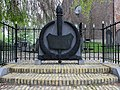 Ouwsterhaule, monument bij de N.H. begraafplaats 02.JPG