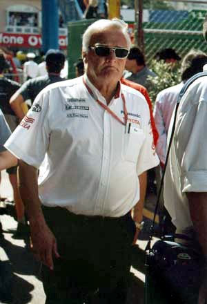 Ove Andersson - Ove Andersson at the Monaco Grand Prix 2002