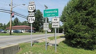 Owensville, Ohio - Image: Owensville OH1