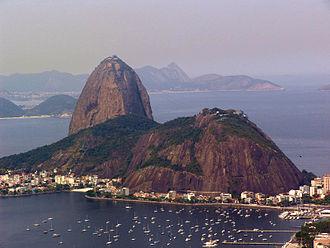 Hausberg - Sugarloaf Mountain, Pão De Açúcar, Rio, an iconic Stadtberg