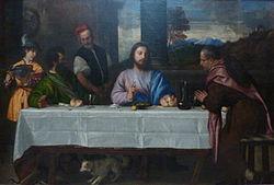 Titian: Pilgrims at Emmaus
