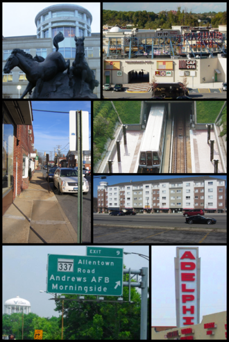 Prince George's County, Maryland - Image: P.G. County, Maryland Infobox Montage 1