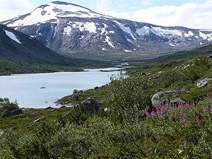 Breheimen National Park - Image: P1000154Gamle Strynefjellsvegen