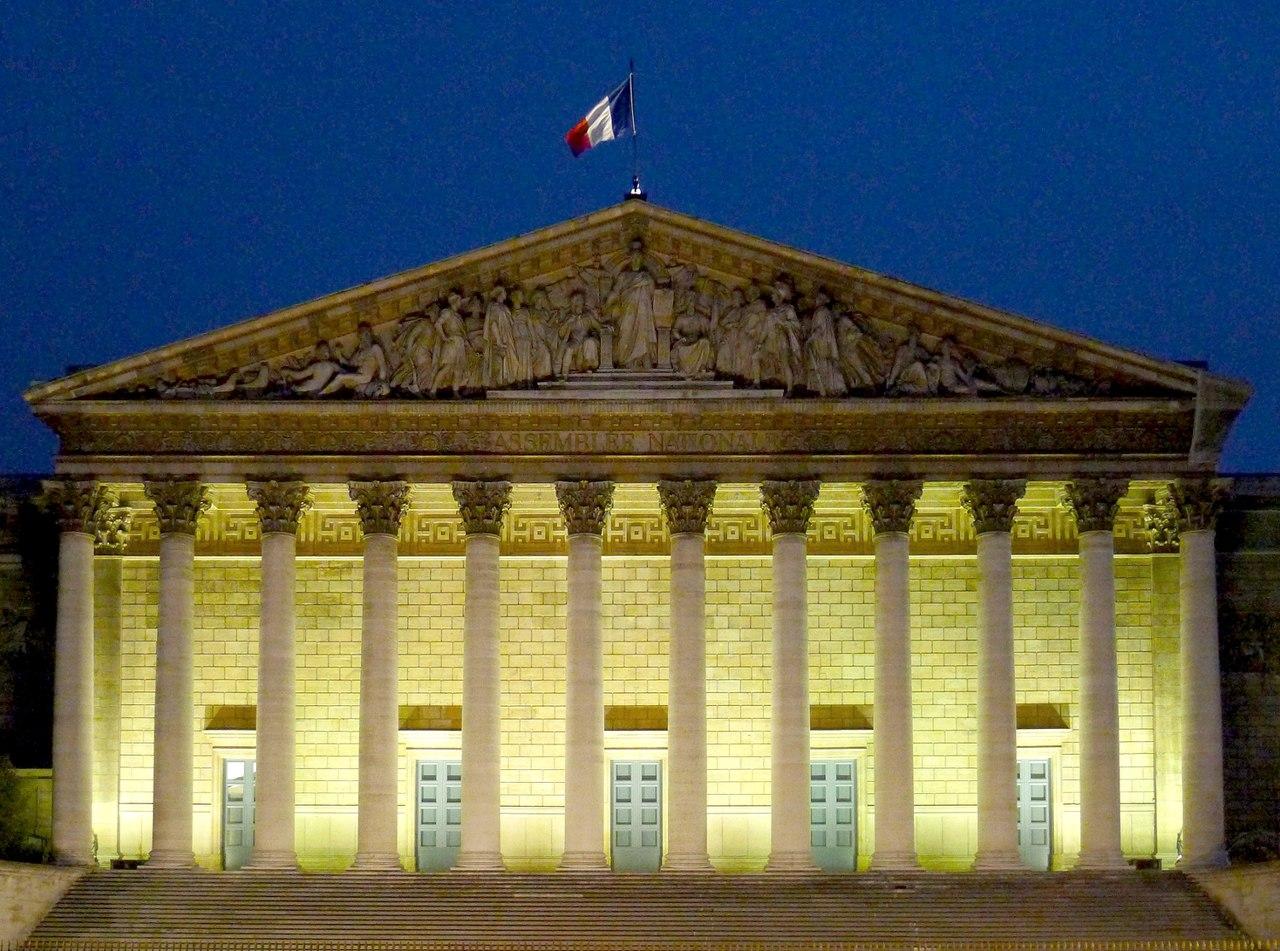 [MFN] 14 Juillet : La marseillaise 1280px-P1030530_Paris_VII_Palais-Bourbon_de_nuit_rwk