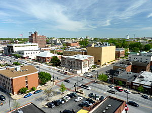 Downtown Columbia, Missouri - Image: P1040733