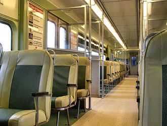 PATCO Speedline - Original 1968 PATCO car interior.