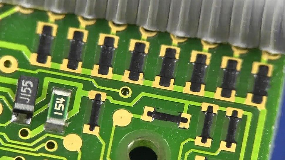 PCB Carbon Printed Resistor