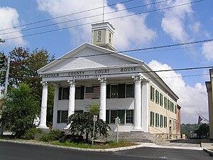 Carmel, New York - The original 1814 Putnam County Courthouse