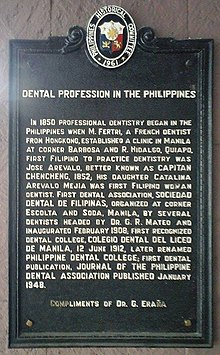 Dentistry in the Philippines - Wikipedia