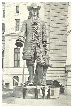 William Penn (Calder) - Image: PH(1897) p 11 STATUE OF WILLIAM PENN
