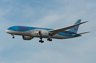 TUI fly Netherlands - TUI fly Netherlands Boeing 787-8