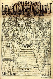 16th-century Inca emperor