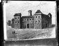 Paço dos Estaus no Rossio - desenho à pena de Júlio de Castilho, decalcado da vista Olissipo de J. Braunio.png