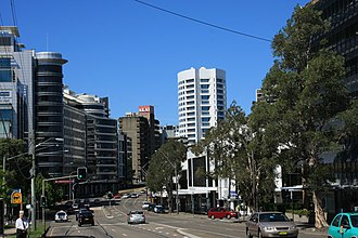 St Leonards, New South Wales - Image: Pacific Hwy St Leonards