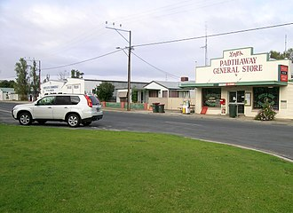 Padthaway, South Australia - Main street of Padthaway.