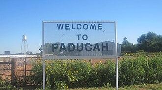 Paducah, Texas - Paducah welcome sign