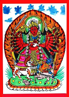 Chandi Goddess in Hinduism, a form of Durga