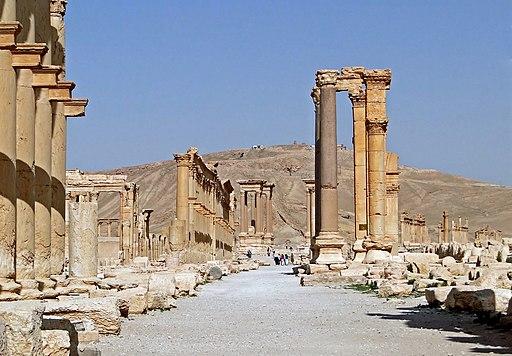 Palmyra - Decumanus Maximus