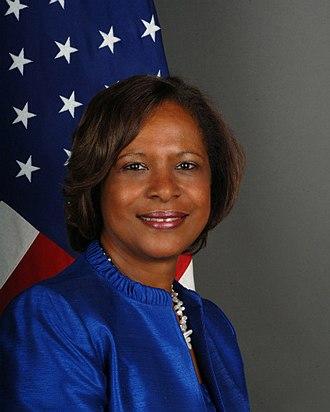 Pamela E. Bridgewater - Image: Pamela E Bridgewater ambassador