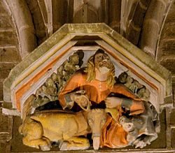 Pamplona - Catedral, refectorio 16.JPG