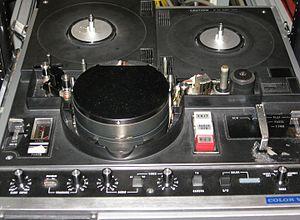 EIAJ-1 - Image: Panasonic half inch VTR