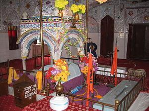 Inside Panja Sahib Gurdwara