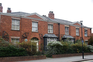 Pankhurst Centre pair of Victorian villas in Manchester, England