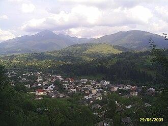 Moisei - Image: Panoramă