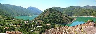Province of Rieti - Castel di Tora