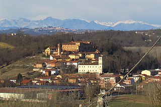 Monale Comune in Piedmont, Italy