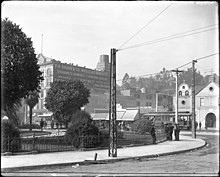 Panoramic view of the Los Angeles Plaza, looking west, ca.1905 (CHS-5081.1).jpg