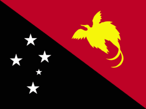 Feni Islands - Flag of Papua New Guinea