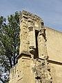 Paris (75), église Saint-Julien-le-Pauvre, vestige de la galerie ou claire-voie de la façade occidentale.JPG