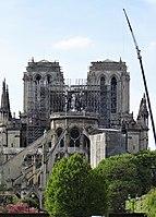 Paris - Cathédrale Notre-Dame - 17 avril 2019 - 3.jpg