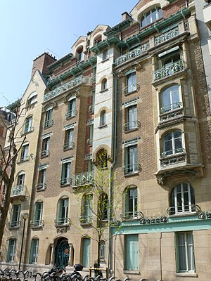 Castel Béranger - Castel Beranger, the first Art Nouveau apartment building in Paris