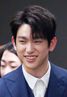 Park Jinyoung (Junior) at 17th Jeonju International Film Festival, 30 March 2016.png